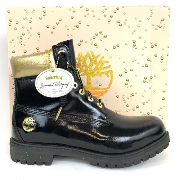 30e04d625eb Timberland Shoes | Mens Premium 6 Black Boots | Poshmark